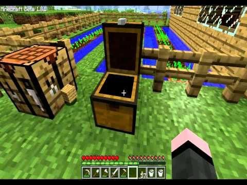 Let's Play Minecraft - Строим ферму пшеницы (Часть 3)