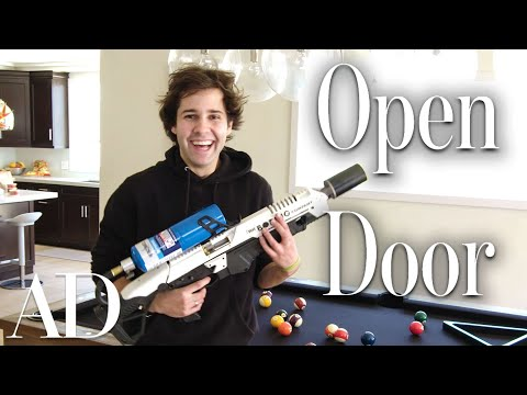Download Inside David Dobrik's $2.5M Los Angeles Home | Open Door | Architectural Digest HD Mp4 3GP Video and MP3