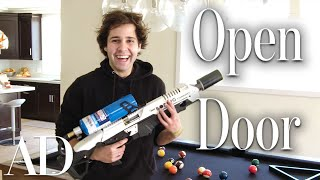Inside David Dobrik's $2.5M Los Angeles Home | Open Door | Architectural Digest