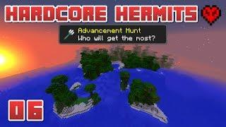 CRAZY 1.13 TERRAIN! | Hardcore Hermits | 06 | Minecraft Advancement Challenge