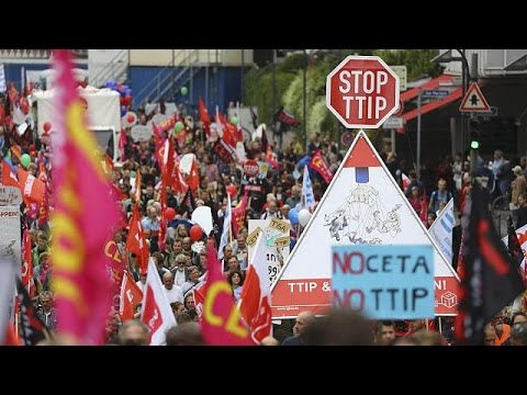Γερμανία: Πληθαίνουν οι φωνές διαμαρτυρίας κατά της TTIP