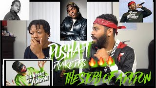 "IS IT OVER!? Pusha T ""The Story Of Adidon"" (Drake Diss) (WSHH Exclusive - Official Audio) REACTION"