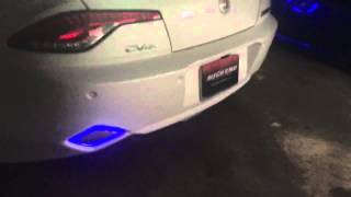 Fisker Karma ultimate lighting