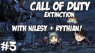 COD Ghosts: Extinction with Nilesy, Rythian&Kim! #3 Rythian's Ranting Again