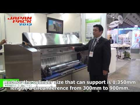 Automatic gravure cylinder washing machine \