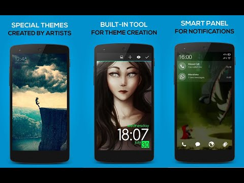 Make Your Own Android Lockscreens!   Lock Screen Club   Best Apps 2016