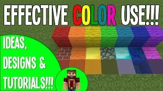 Using Color Effectively - #2 Building Tips&Tricks