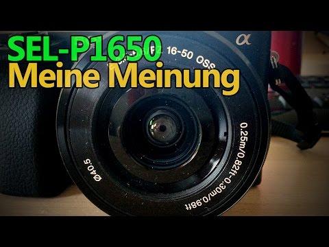 SEL-P1650 - Meine Meinung zum kompakten Power Zoom (Review deutsch)