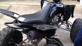 10. Stock Raptor 250 Exhaust Vs. FMF PowerCore 4 Slip-on