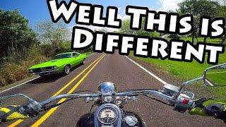 10. Jake Rides a Cruiser and Likes it? Kawasaki Vulcan 900