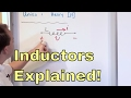 What is an Inductor?  Learn the Physics of Inductors & How They Work