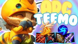 ADC TEEMO IS HOW TO CARRY BOT LANE!! - Off Meta Monday - Teemo ADC - League of Legends