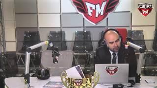 100% Футбола. 18.05.2016. Тема - 11 лет со дня победы ЦСКА в Кубке УЕФА