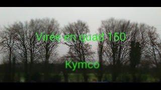 4. Virée en quad 150 Kymco
