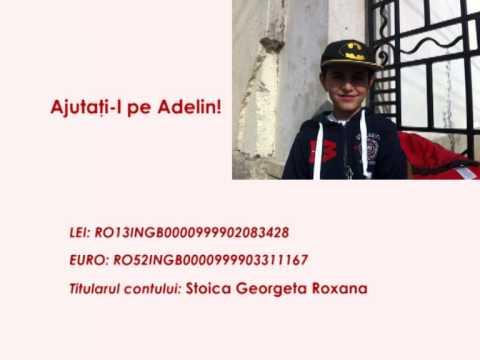 Ajutați-l pe Adelin!