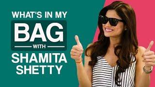 What's in my bag with Shamita Shetty   Pinkvilla   S01E01   Bollywood   Lifestyle