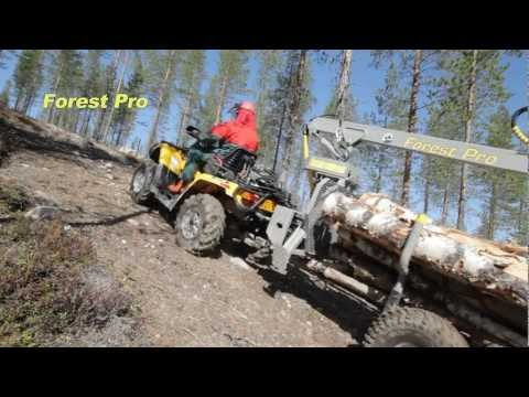 Timber - Timber Wagon Forest Pro. Forest Pro HD Timber Wagon with hydraulic drive. From: Can Am. Website: http://www.can-am.fi YouTube Channel: http://www.youtube.com...
