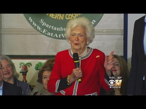 America Waits For News On Health Of Barbara Bush