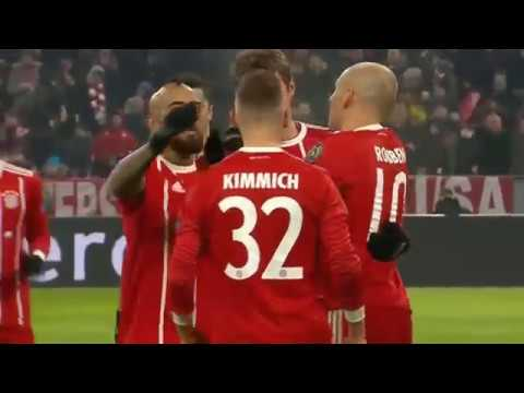 Bayern Munich vs Besiktas 5 - 0   All Goals & Extended Highlights  UCL 20/02/2018 HD