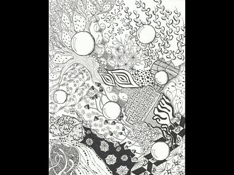 Most Intricate Zentangle® (for me)