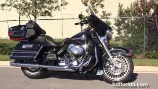 9. Used 2012 Harley Davidson Ultra Classic Electra Glide Motorcycles for sale
