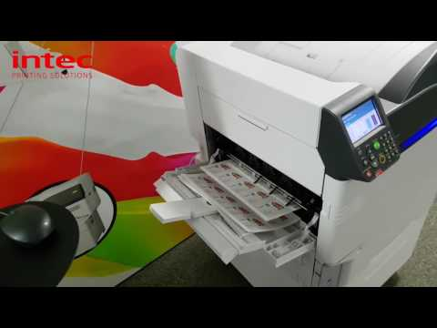 UV Printing On Intec ColorSplash Model: CS5000 UV Clear