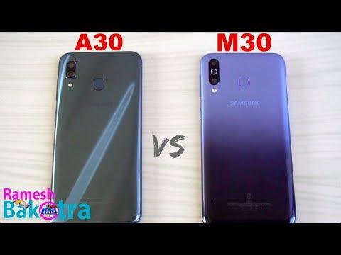 Samsung Galaxy A30 vs M30 SpeedTest and Camera Comparison - Thời lượng: 6 phút, 49 giây.