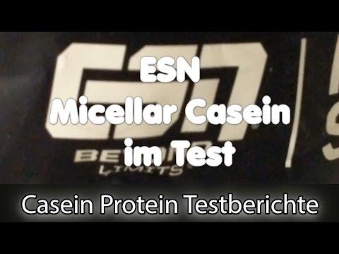 ESN Micellar Casein Protein Test - Inhalt, Erfahrungen & Löslichkeit im Check