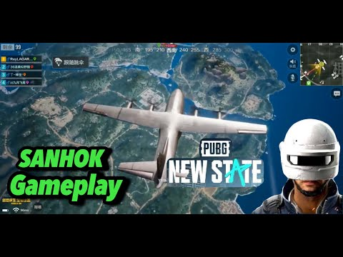 PUBG NEW STATE COMING SOON ULTRA HD GAMEPLAY   SANHOK CLASSIC   TIMI VERSION  PUBG NEW STATE