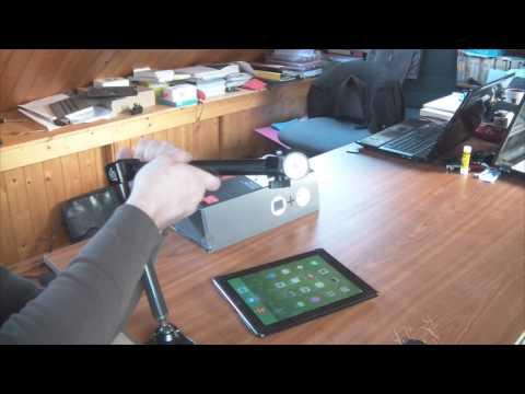 Test accessoire tablette ipad 2 3 et 4 Joyfactory support pour bureau