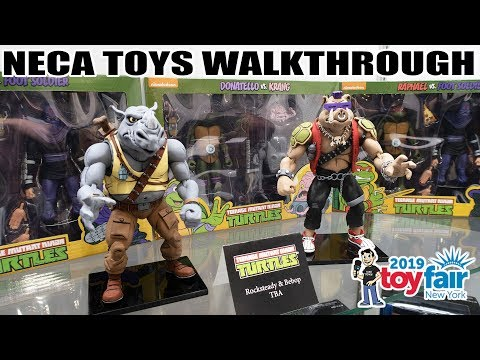 NECA Toys Product Walkthrough at New York Toy Fair 2019