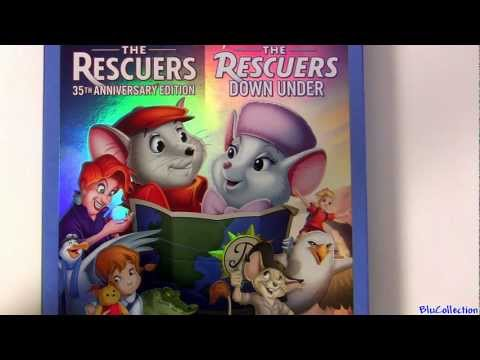 The Rescuers Tigger Movie Blu Ray Unboxing Review Disney Dvd Lady And The Tramp 2