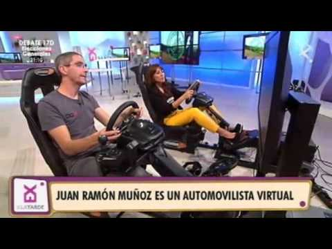 ACERCANDO EL AUTOMOVILISMO VIRTUAL EN CANAL EXTREMADURA