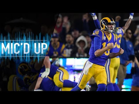 Cowboys vs. Rams Mic'd Up for Battle of the Backs (NFC Divisional Round)