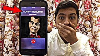 CALLING SLAPPY THE DUMMY DOLL *OMG HE ACTUALLY ANSWERED*