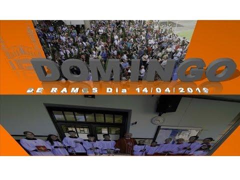 Domingo de Ramos Dia 14-04-2019 Matriz São Sebastião