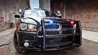 We Drive The 2014 HEMI Dodge Police Pursuit Charger&test It From 0-60 MPH (again)