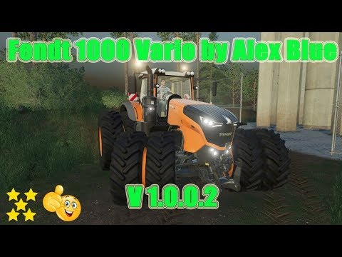 Fendt 1000 Vario by Alex Blue v1.0.0.7