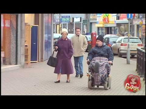 Crazy Wheelchair Man