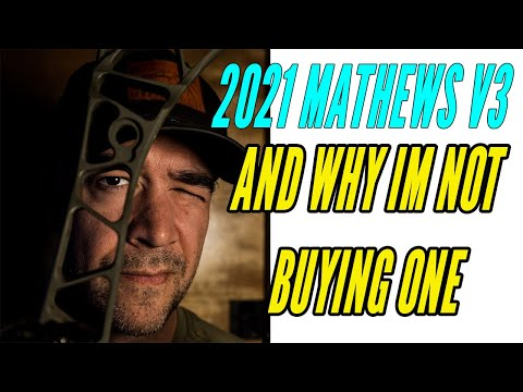 Why Im not buying the 2021 Mathews v3... and the tornado