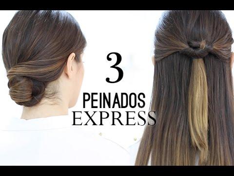 y - LÉEME / DESPLIEGAME ♥ ♥ PEINADOS EXPRESS EN 5 MIUTOS