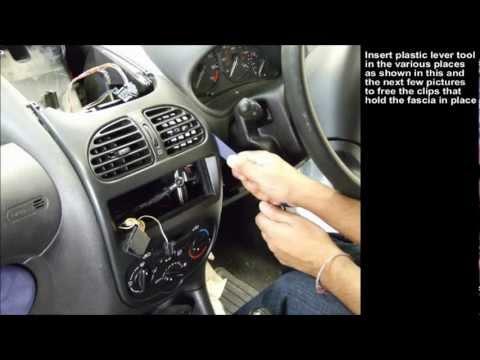 Peugeot 206 Double Din