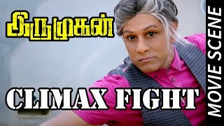 Nonton Iru Mugan   Climax Fight   Vikaram   Nayantara   Nithya Menon   Harris Jayaraj Film Subtitle Indonesia Streaming Movie Download
