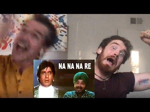 Na Na Na Re Song REACTION!! | Mrityudaata | Amitabh Bachchan, Daler Mehandi