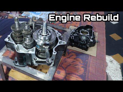 Part 2 : Pulsar 180 Rebuild : Engine Fitting