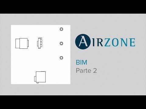 2. Airzone BIM: Colocación y alineación del plenum