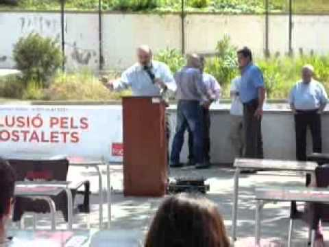 Mitin psc de Hostalets de Pierola en Serra Alta