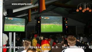 Fussball WM 2018 | Kundenevent | Sommerfest | Firmenevent | Mitarbeiterveranstaltung