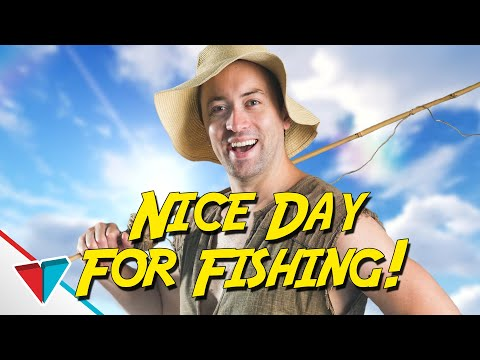 Nice day for fishin - (Video Game Logic) EPIC NPC MAN | Viva La Dirt League (VLDL)