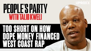 Too $hort Explains How Dope Money Financed The Early Days Of West Coast Rap | People's Party Clip